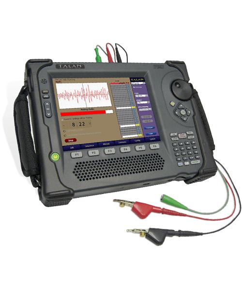 On Line Analyzer : Talan™ telephone and line analyzer detect wiretaps