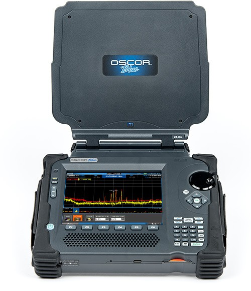 oscor-blue-spectrum-analyzer