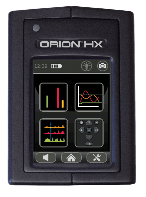ORION 900 HX Mode Selection Display
