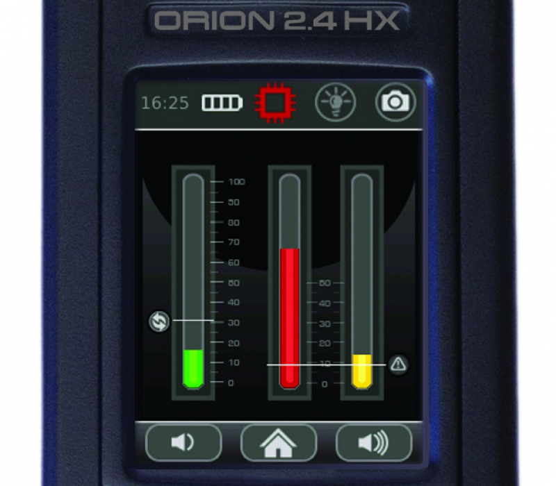 ORION 2.4 HX Non-Linear Junction Detector Bar Graph Display