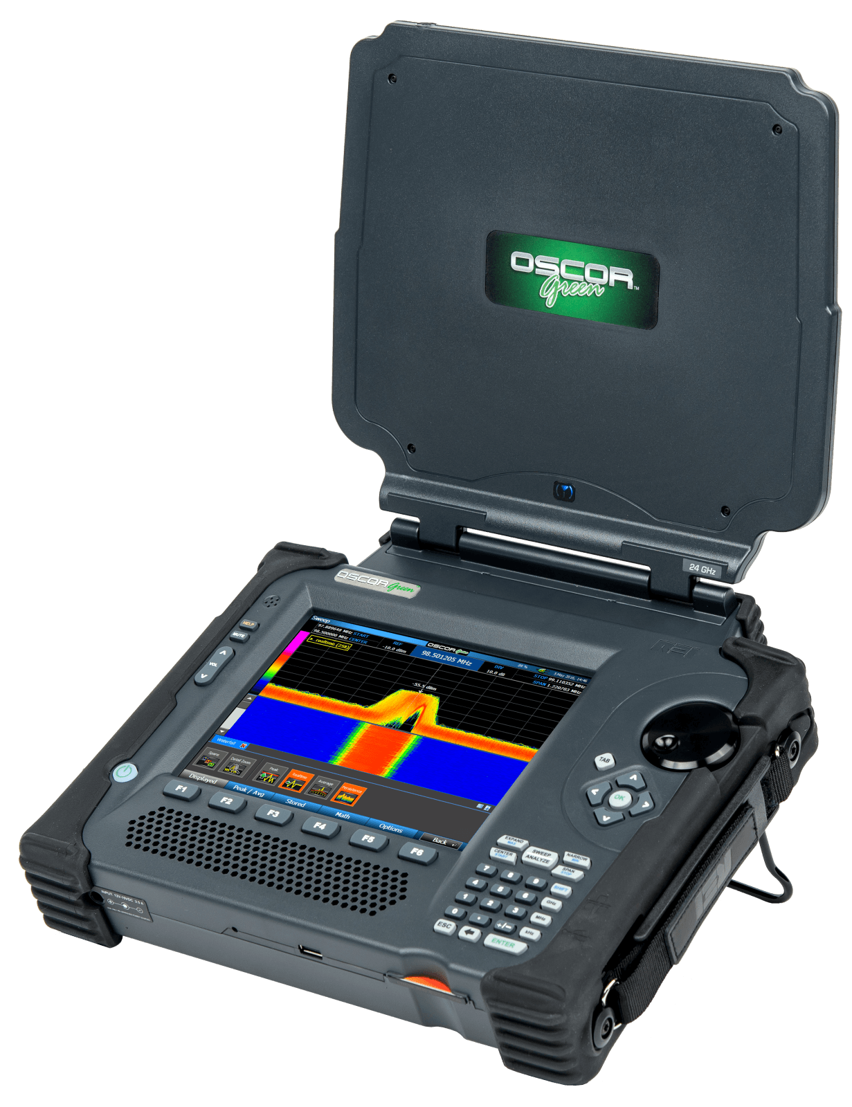 OSCOR Green Spectrum Analyzer Right Perspective