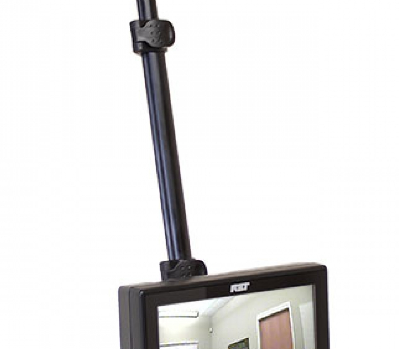 VPC 2.0 Video Pole Camera Partially Extended with Display On