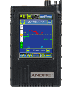 ANDRE Advanced Near-field Detection Receiver Front View