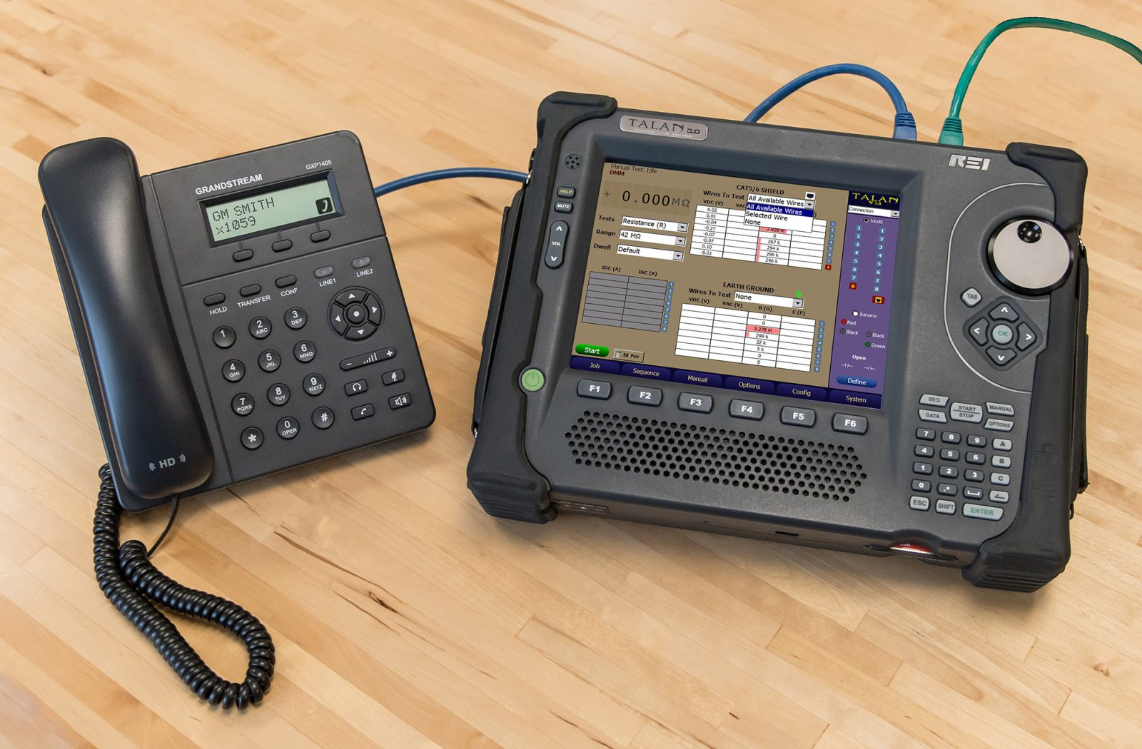 TALAN 3.0 Telephone and Line Analyzer Resistance Testing