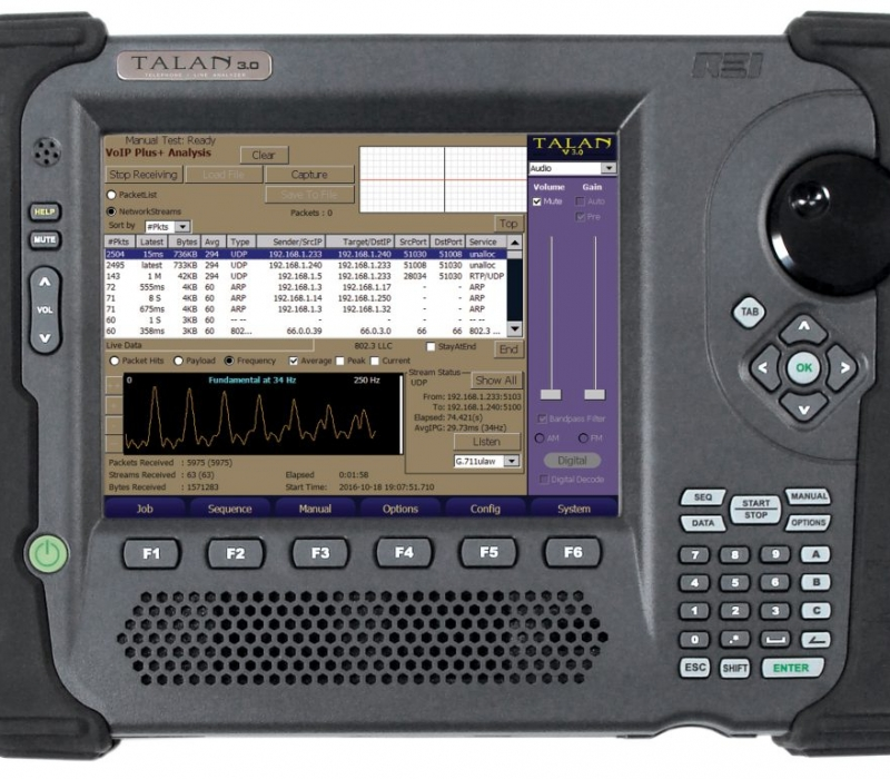 TALAN 3.0 Telephone and Line Analyzer VoIP Analysis