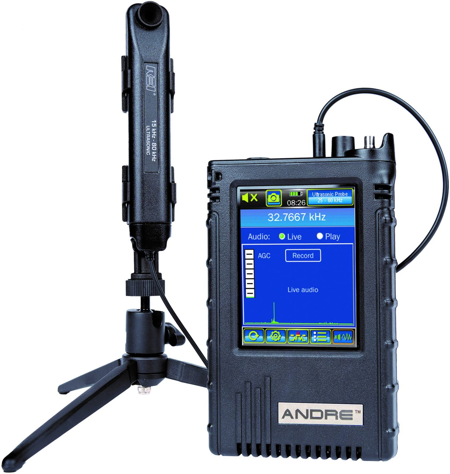 New ANDRE Deluxe Offers Higher Frequency Detection Range