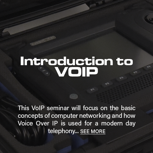 Introduction to VoIP Seminar